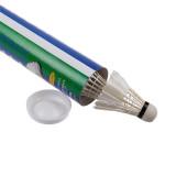Detail Gambar Putih Bulu Angsa Kok Bola Badminton Birdie Set 12 - International Terbaru
