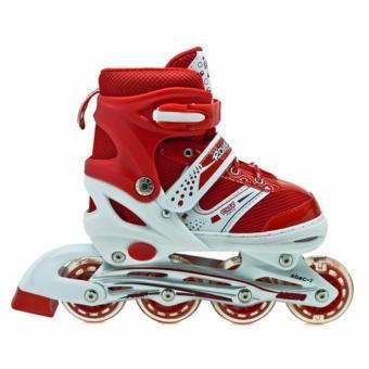GLOBAL sport sepatu roda bajaj lampu anak supe murah inline skate power 3dcc1cc5d1