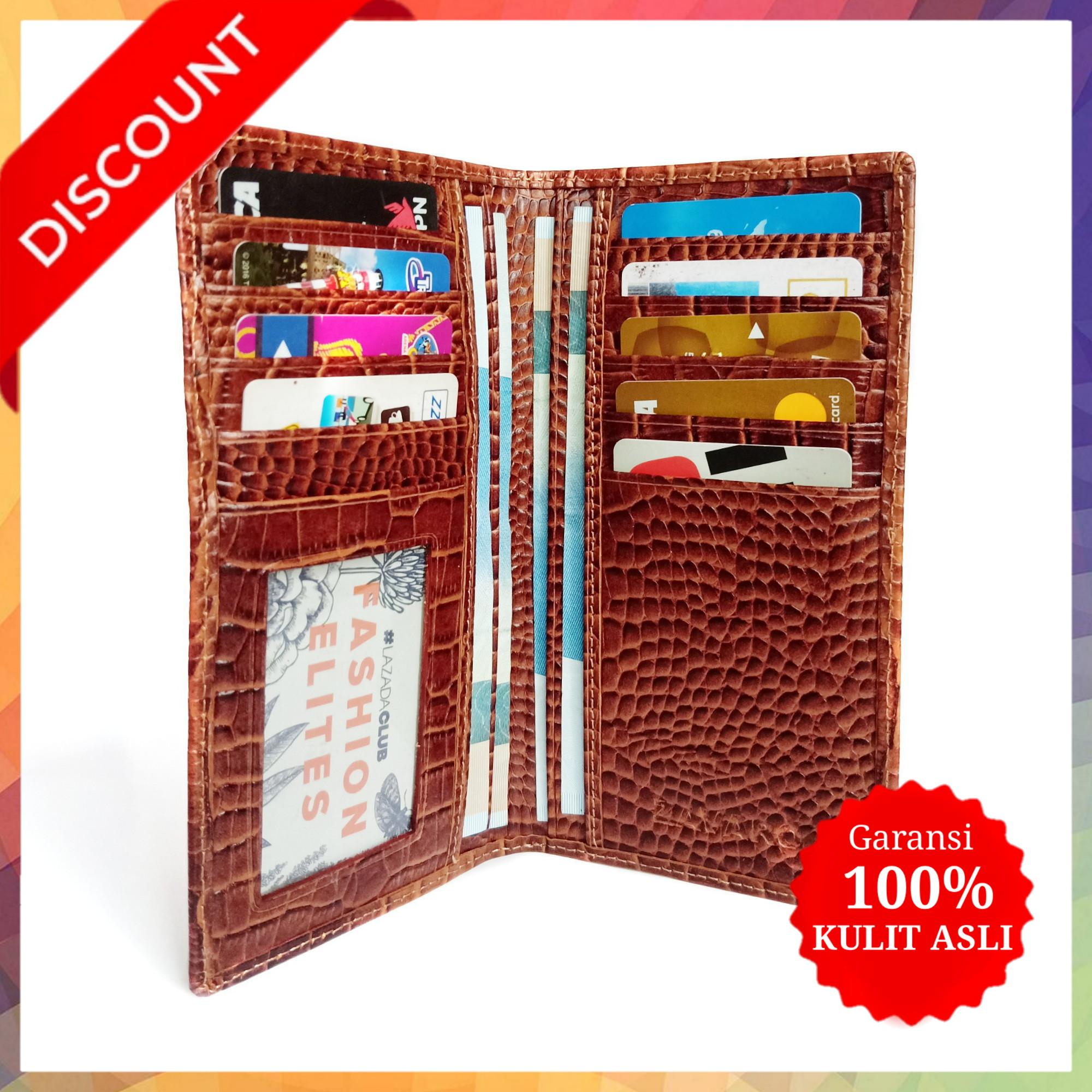 protector – dompet panjang fashion pria wanita premium quality / dompet kulit asli long 100% / dompet kulit pria design panjang / dompet kulit kartu