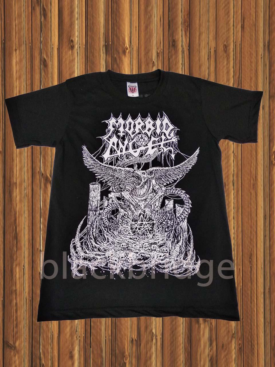 Kaos Pendek / Oblong Rock / Metal / Punk Murah  PRAPATAN REBEL (Size M) - MORBID ANGEL