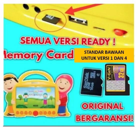 cod smart hafiz memory card kartu memory video anak muslim bawaan smarthafiz versi 1 4 bayar ditempat