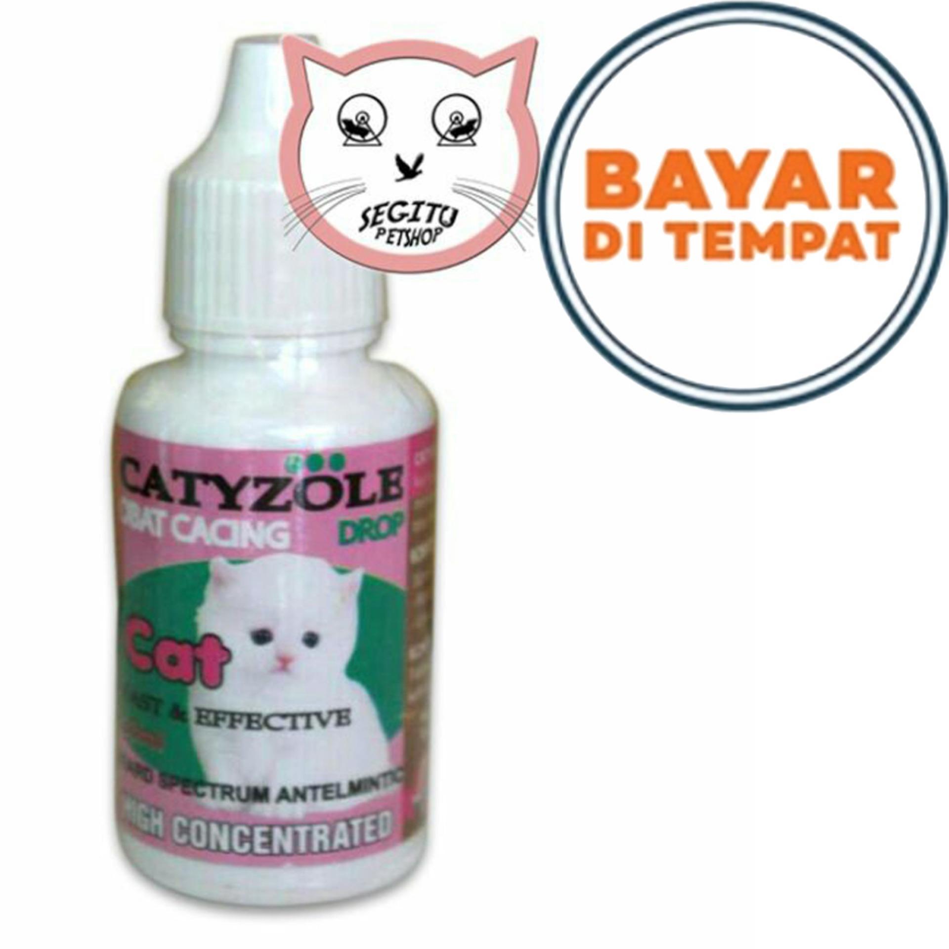 Obat Cacing Tetes Untuk Kucing Kitten & Dewasa Ukuran 30ML CATYZOLE. Source · CATYZOLE -