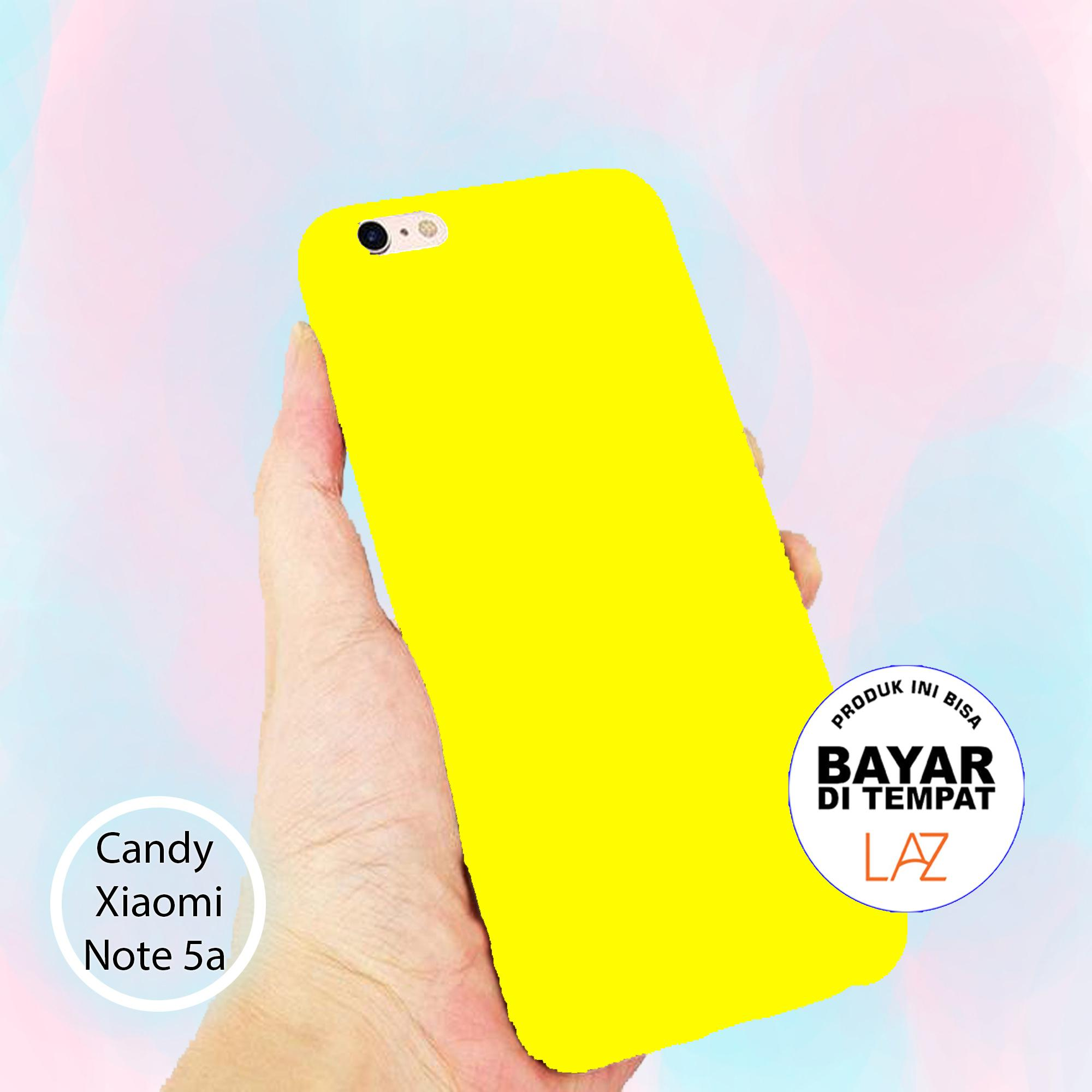 softcase candy all color for redmi note 5a prime