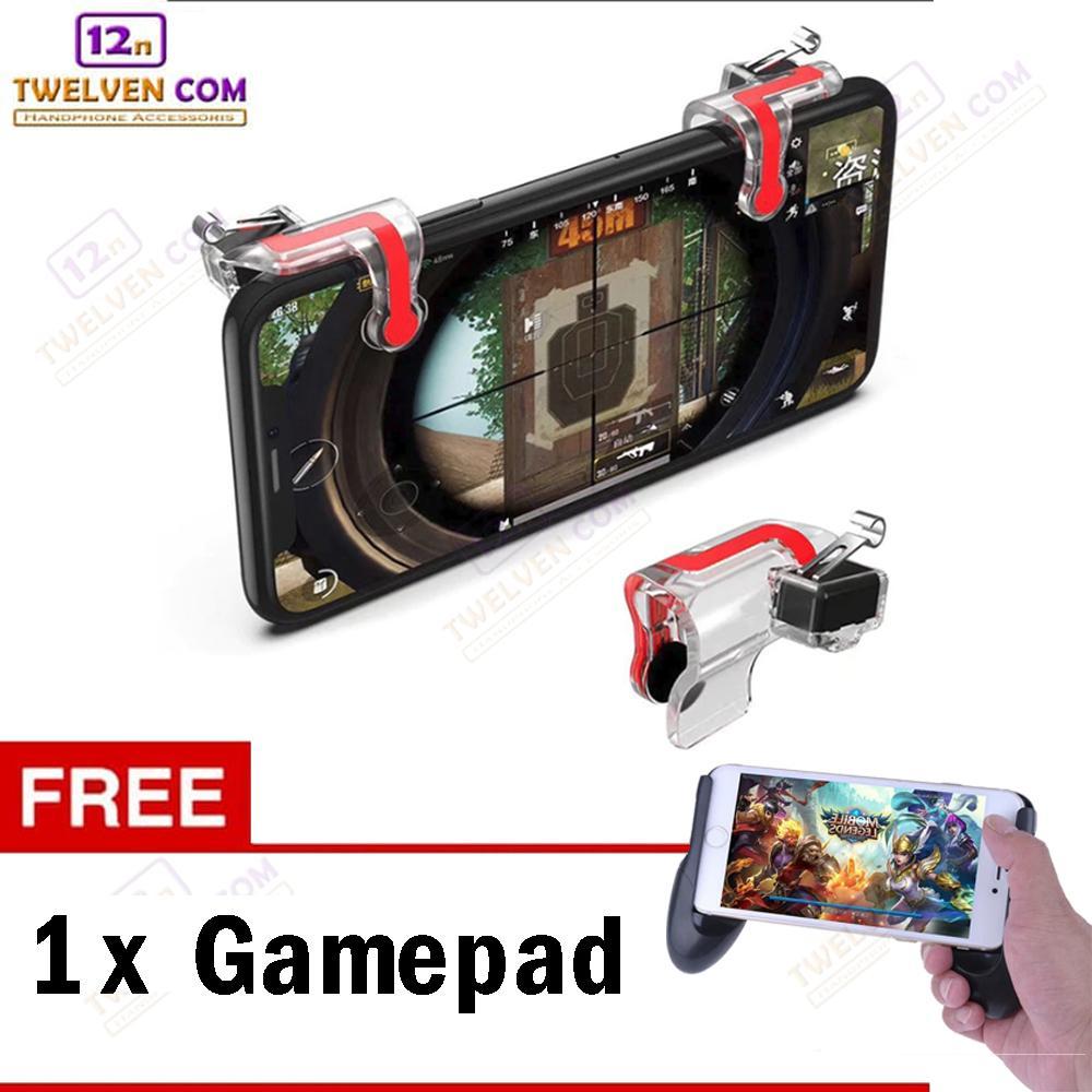 gamepad + mn bundling mobile game set – gamepad + r1l1 / game pad mobile legend / moba / fps game + trigger game r1l1 pubg/ros/free fire