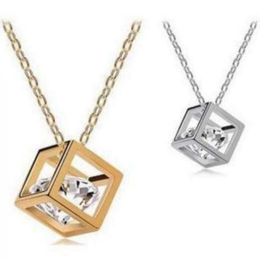 Buyincoins Fashion Women Silver Gold Alloy Chain Crescent