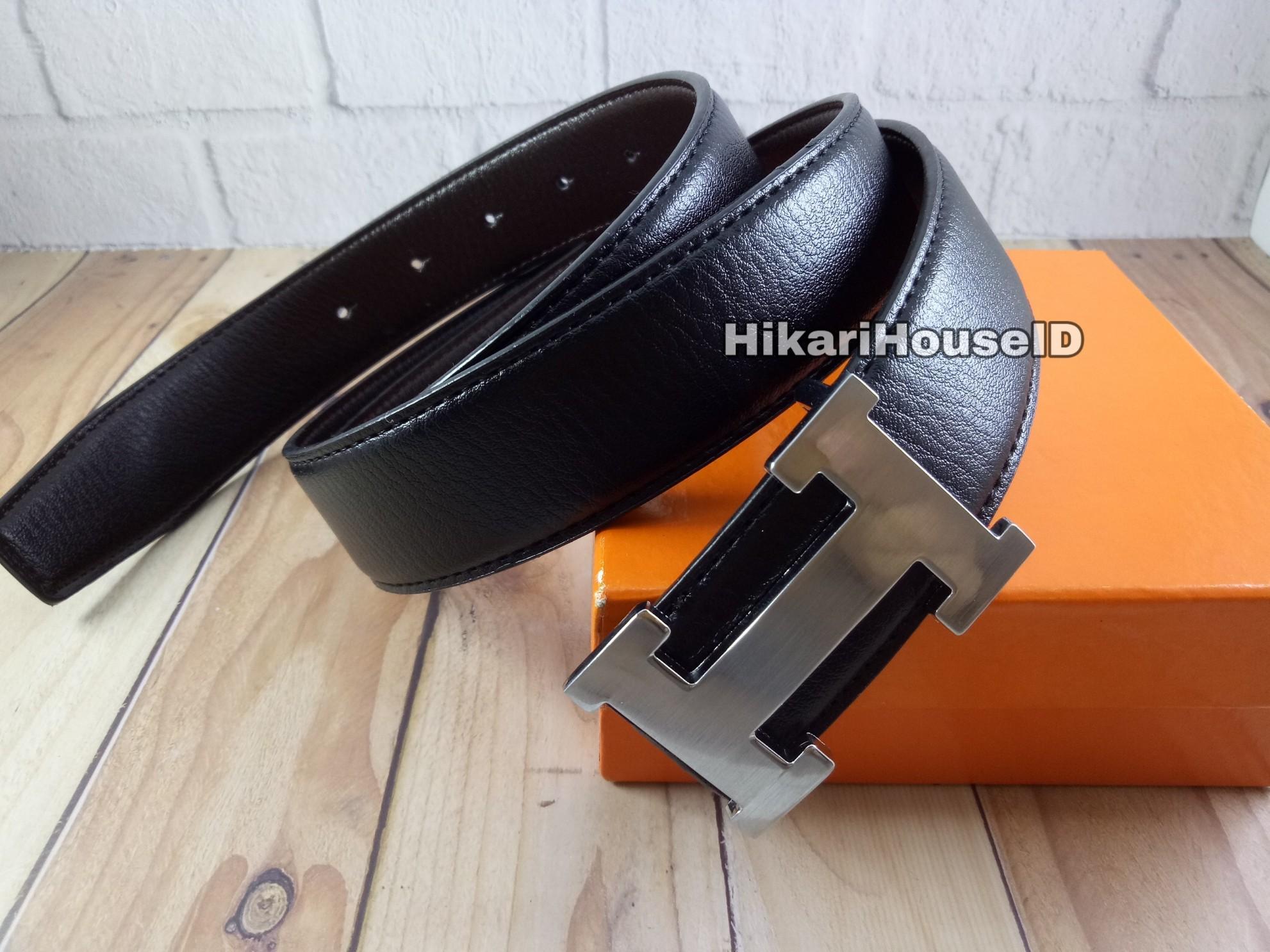 Ikat Pinggang Pria Gesper Fashion Hermes Cantol HM.712
