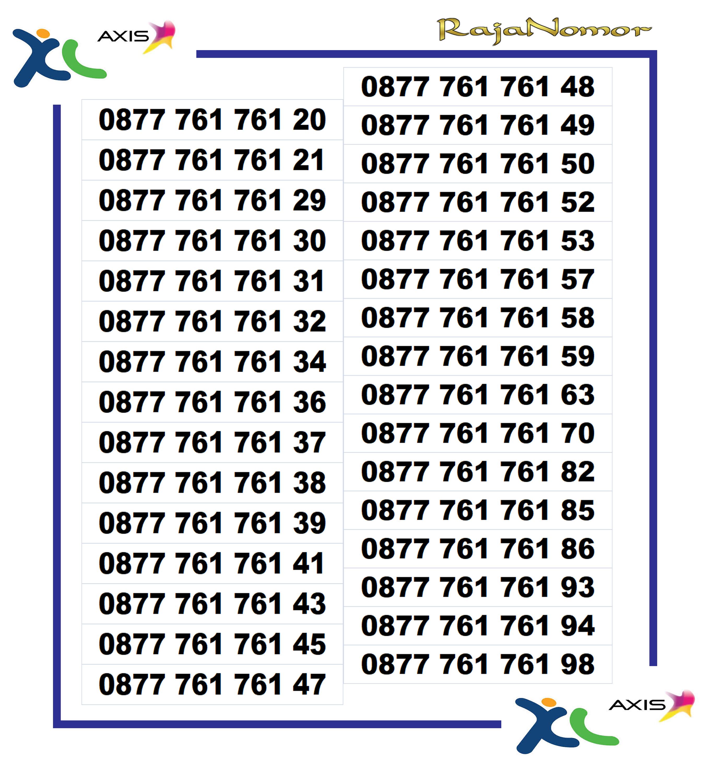 [ bisa cod/ bayar ditempat ] nomor cantik kartu perdana cantik xl 4g lte 7878 9090