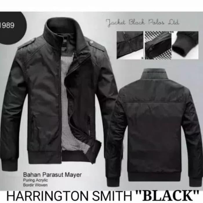 JAKET PRIA HARINGTON SMITH BOMBER JAKET COACH MOTOR SEMI PARKA-JSFULL da039bffa6
