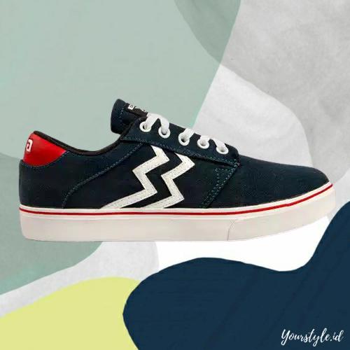 yourstyle.id – sepatu sneakers pria geoff max x mike milford original type gavin stz hitam navy