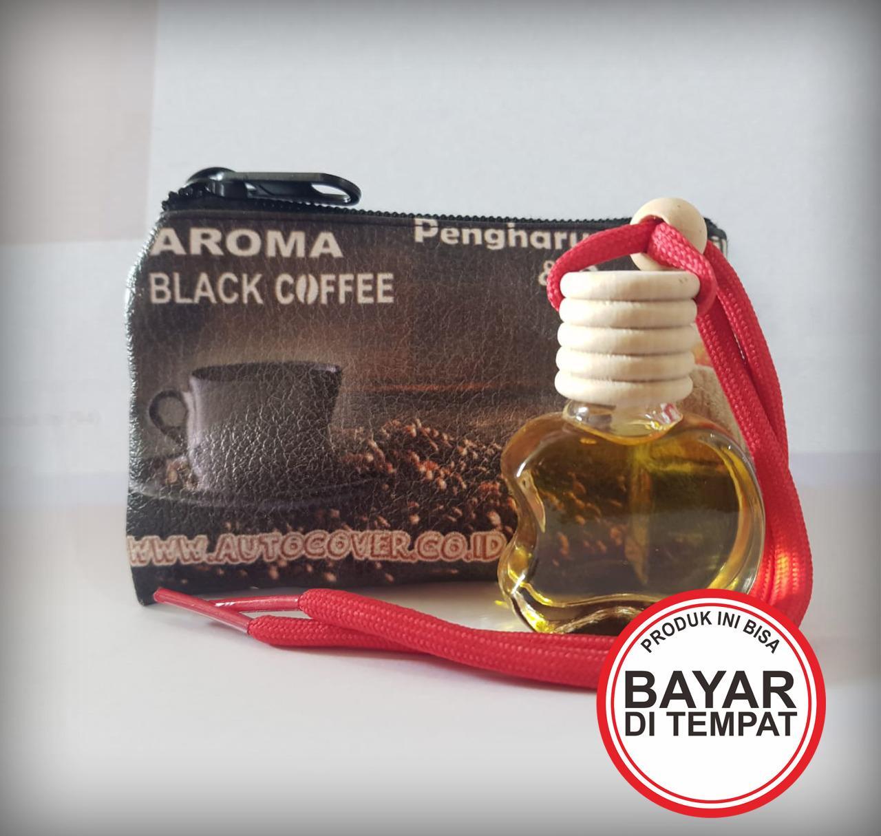 [ bayar tempat ]  pengharum mobil aroma kopi hitam kapal api espresso original autocover