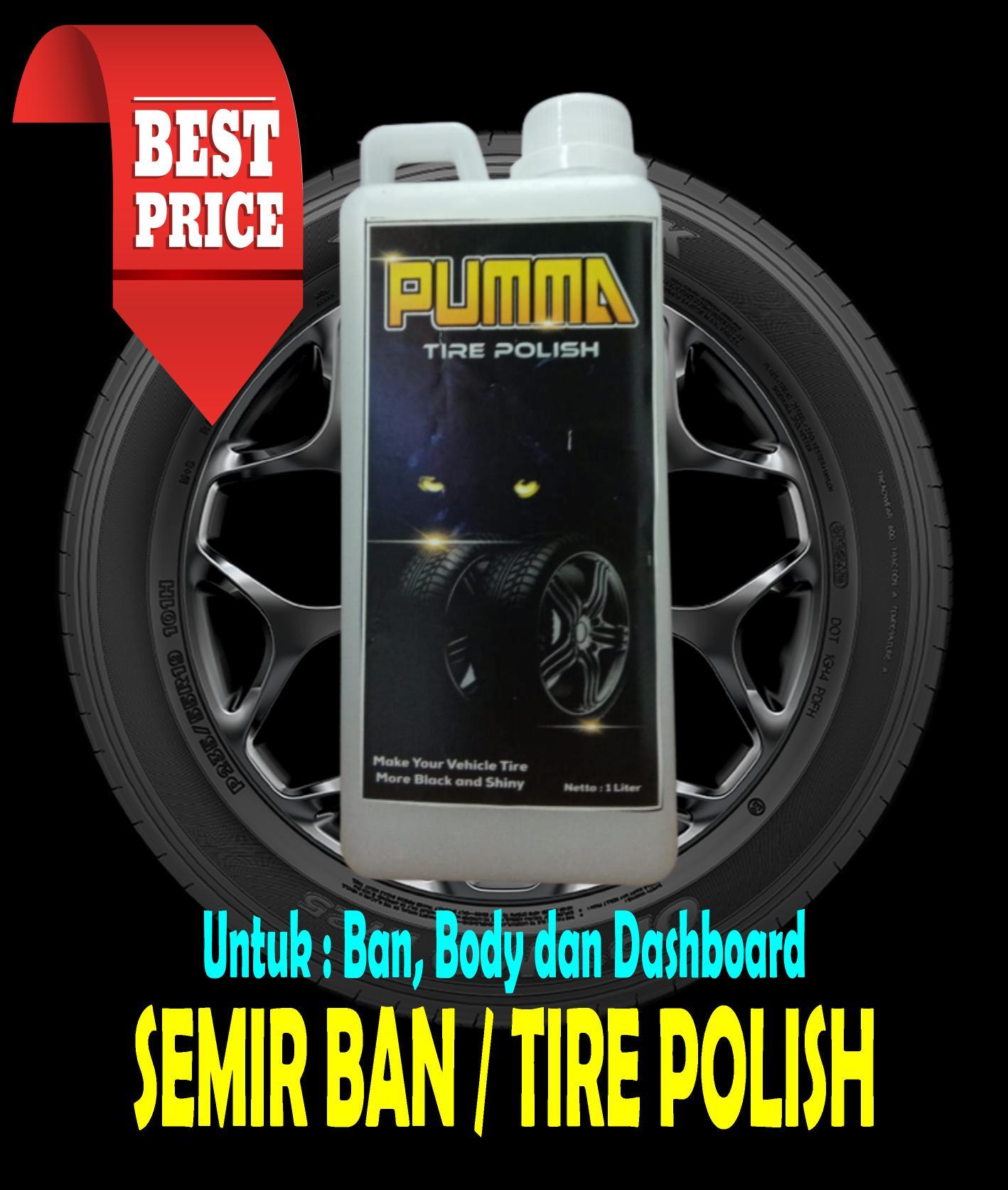 [cod] diskon…!!! semir ban mobil & motor 1 liter – untuk ban body dasboard kendaraan