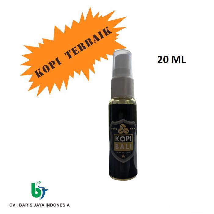 parfum pengharum mobil kopi bali & berbagai aroma spray refil 20 ml pewangi ruangan