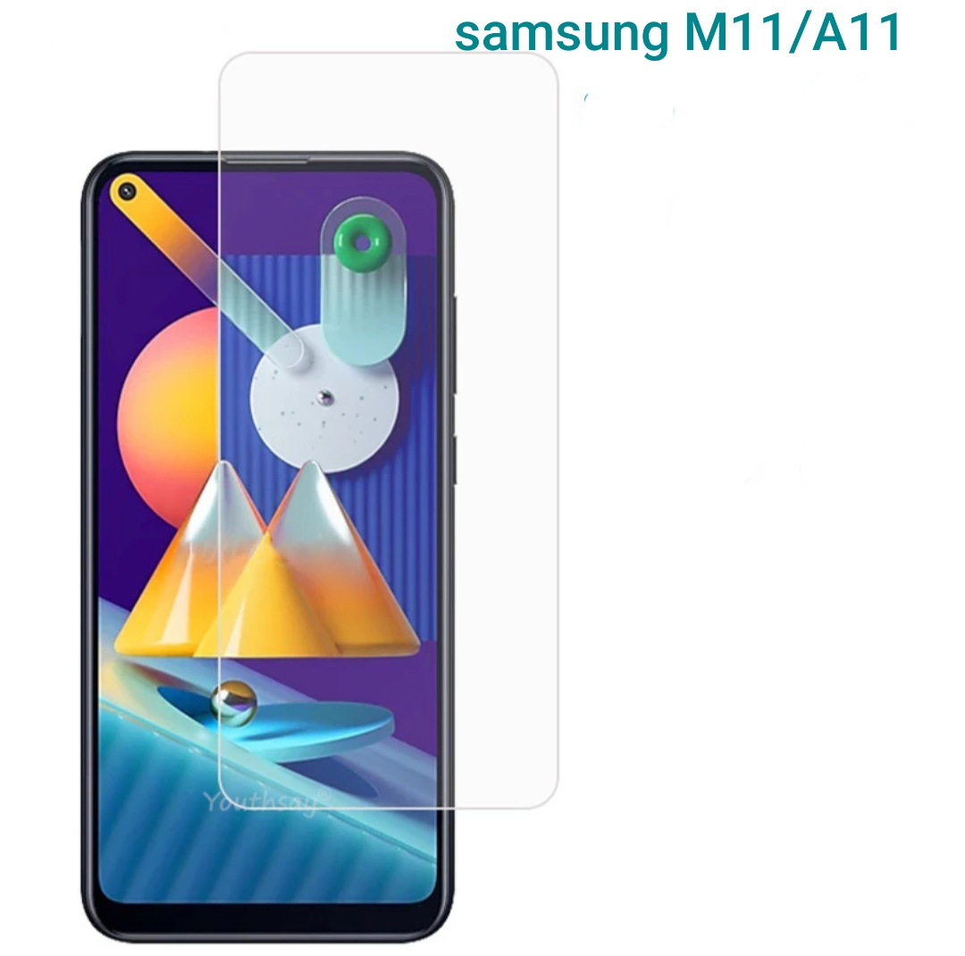 tempered glass for samsung m11/a11 2020 anti gores  pelindung layar screen protector