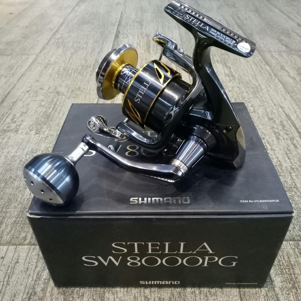 Review Reel Pancing Shimano Stella 13 Sw 8000pg 14 1bb Dan