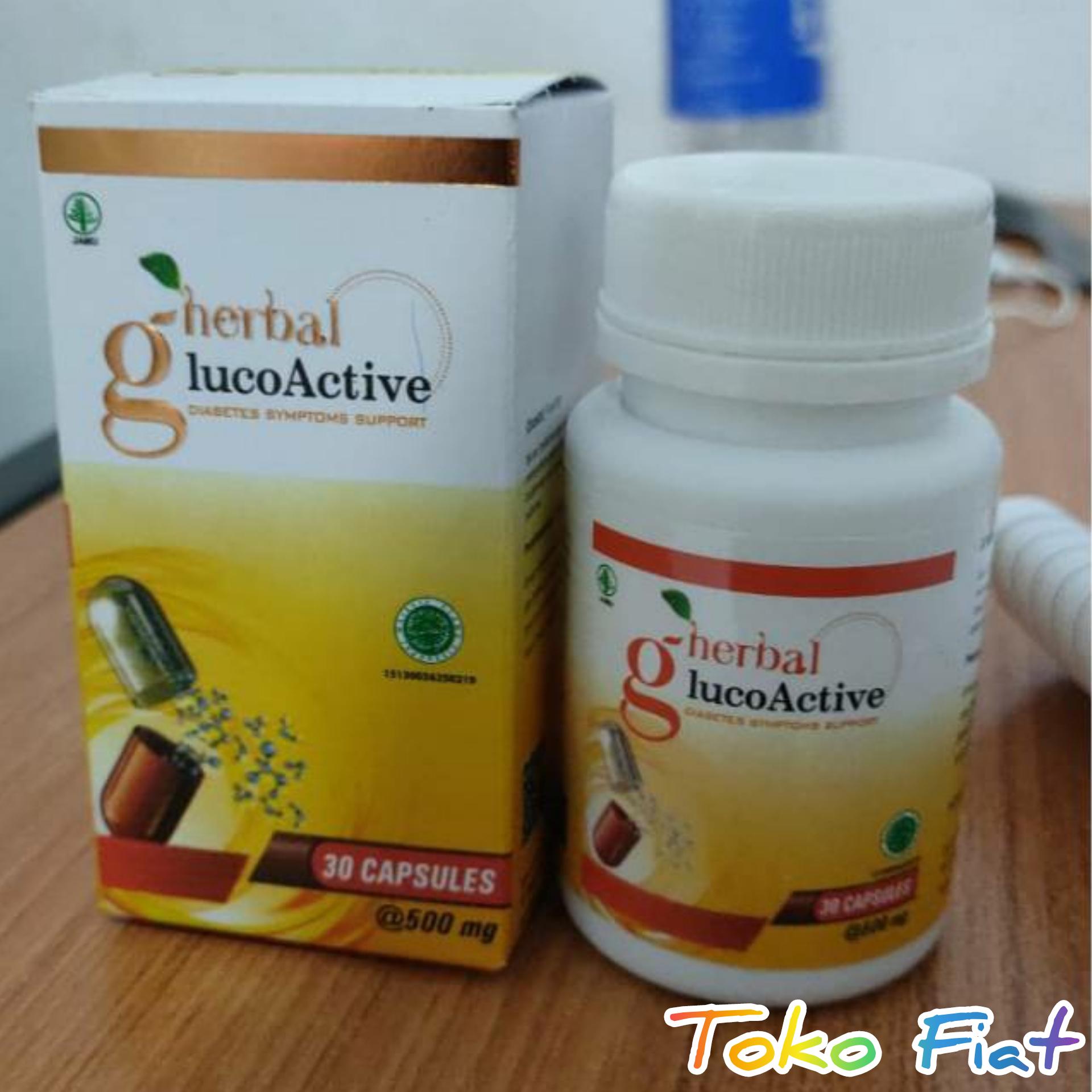 obat glucoactive herbal asli membantu mengatasi diabetes & kencing manis resmi bpom
