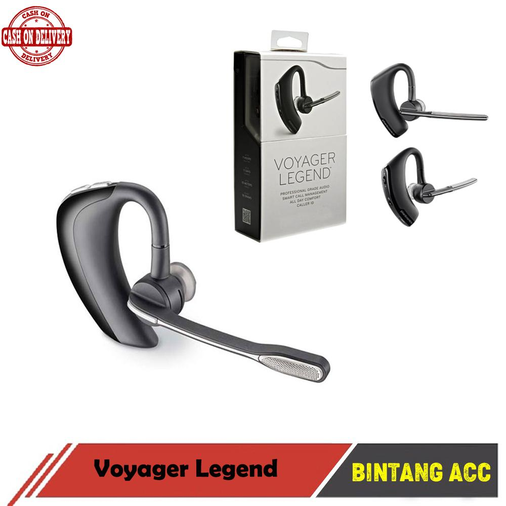 Bintang Acc - Headset Bluetooth Voyager Legend V8 Handsfree Stereo Plantronics OEM