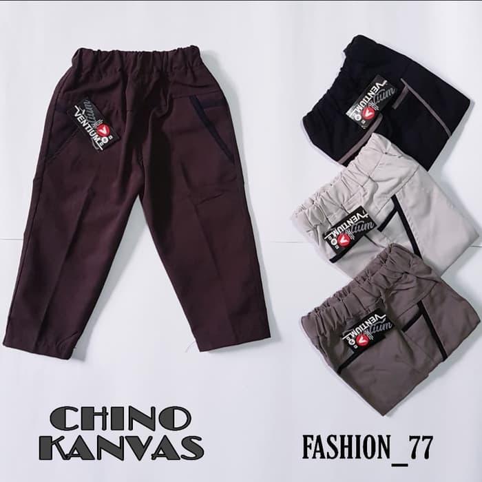 celana panjang anak model chino bahan kanvas