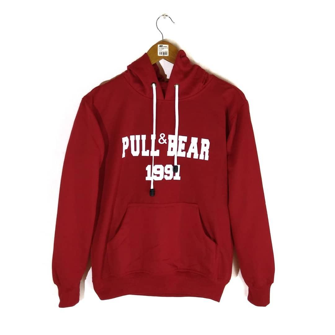 Features Jaket Hoodie Sweater Jumper Pullbear Army Pria Wanita Dan