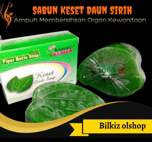 [original] sabun keset daun sirih asli bpom / sabun keset kewanitaan