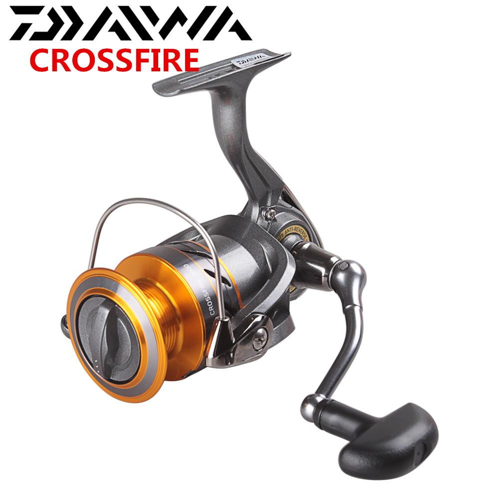 34585f0aac5 DAIWA CROSSFIRE Spinning Fishing Reel 2500/3000 Size 5.3:1/3BB/4kg ...
