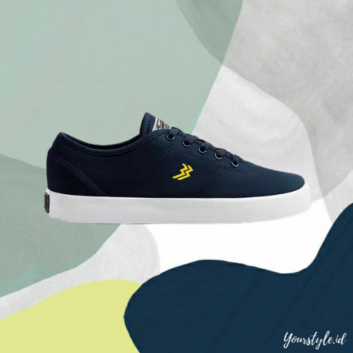 yourstyle.id – sneakers pria trendy casual original by geoff max type ethan maroon navy hitam