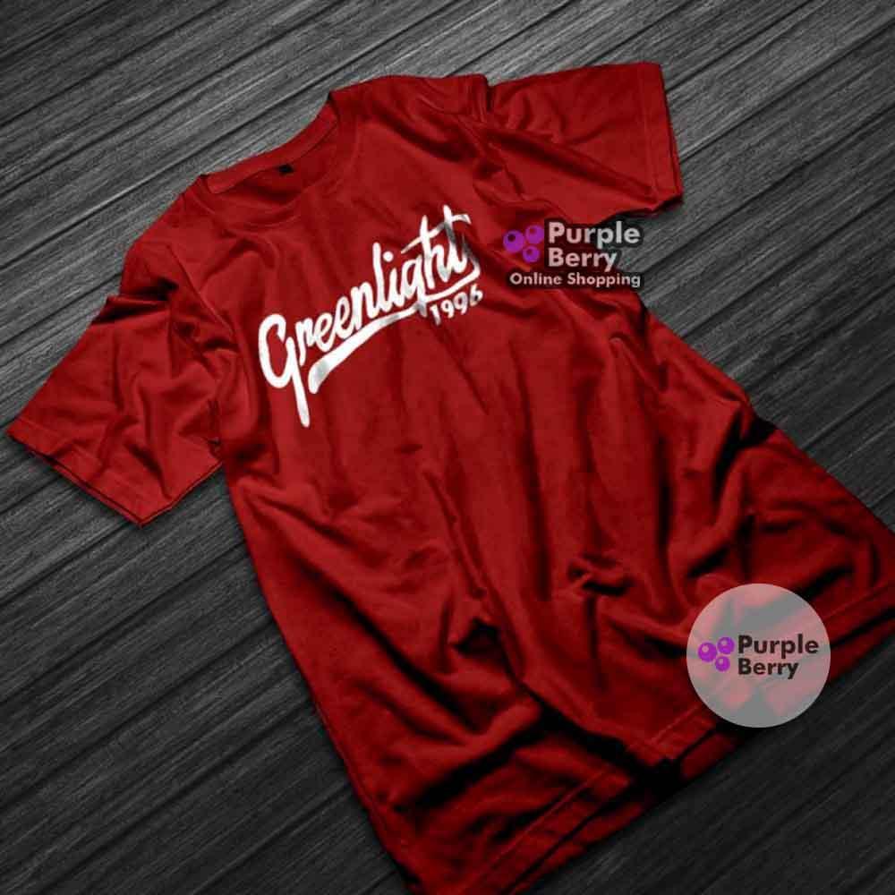 KAOS BAJU DISTRO GREENLIGHT 1996 - Tshirt Katun Combed 30s Premium Distro   Purple 743