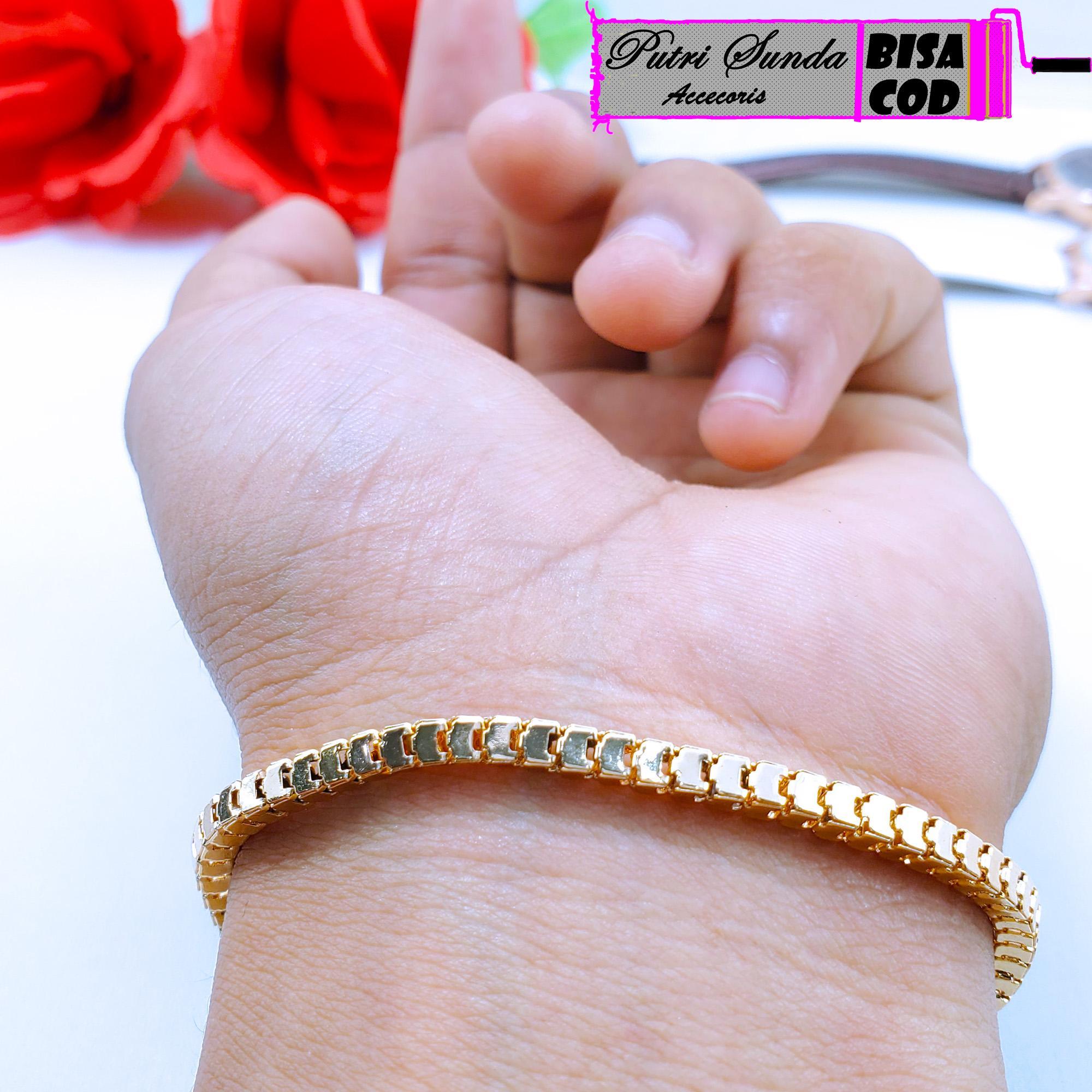 gelang xuping cantik gold