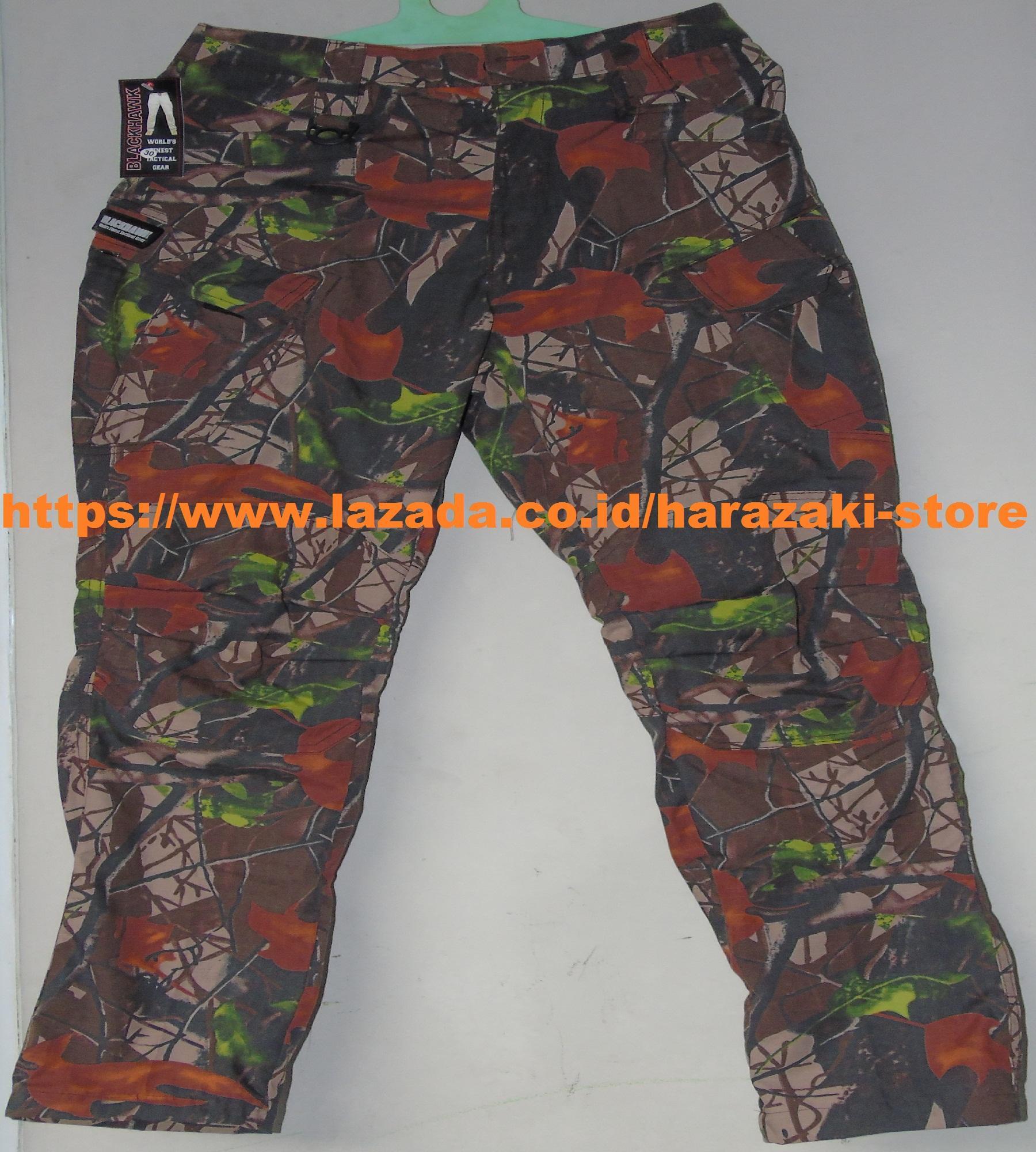 Celana Blackhawk Panjang Perbakin / Celana Tactical Taktikal Blackhawk Hijau Army / Celana Outdoor / Celana