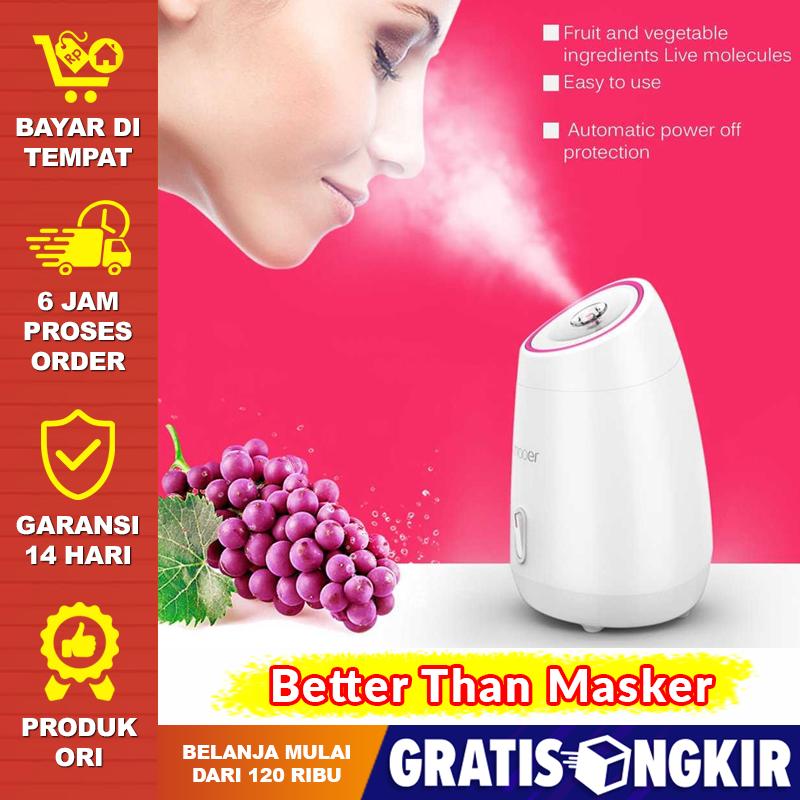 alat uap facial wajah / mesin pelembab steamer portable / steamer muka steam machine beauty humidifier maoer
