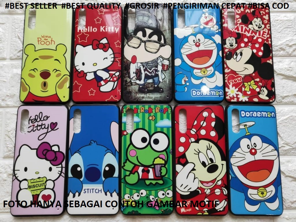 Softcase Samsung A2 Core Softcase Karakter Terbaru 3D Animasi Kartun Doraemon Hellokitty Stich Ceroppy Mickeymouse Disney