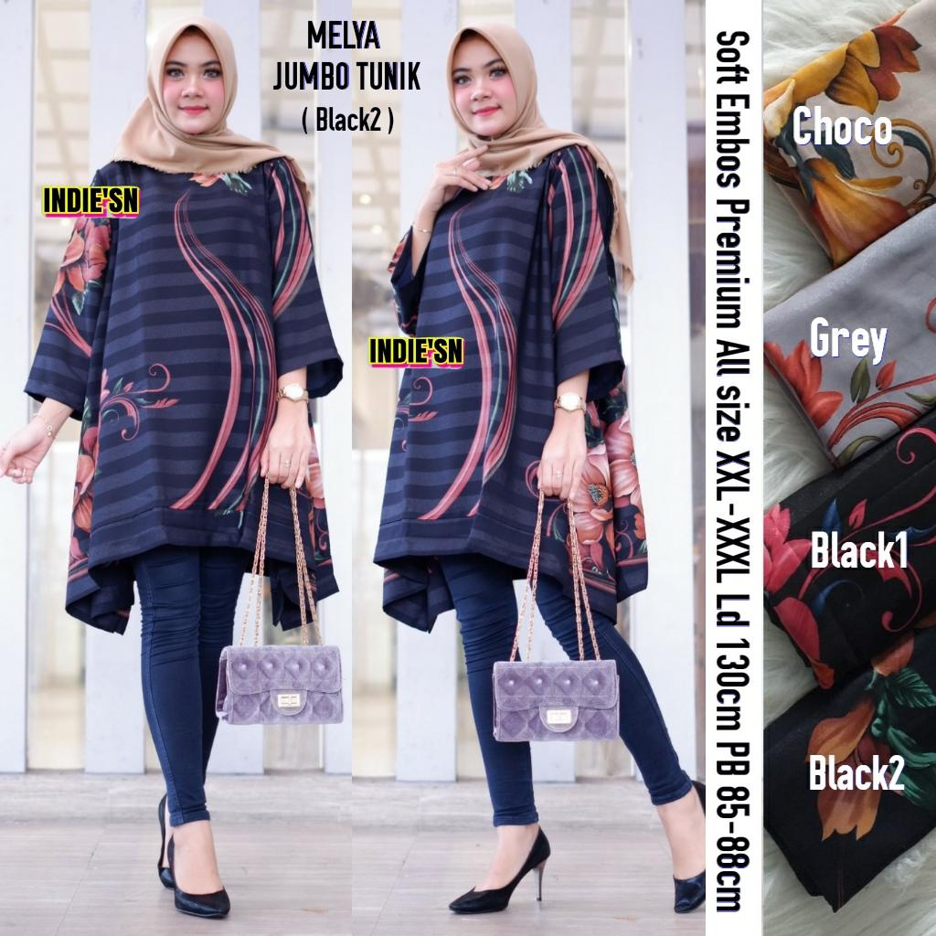 Review Dista Jumbo Tunik Soft Embos Model Tunik Terbaru 2019 Tunik
