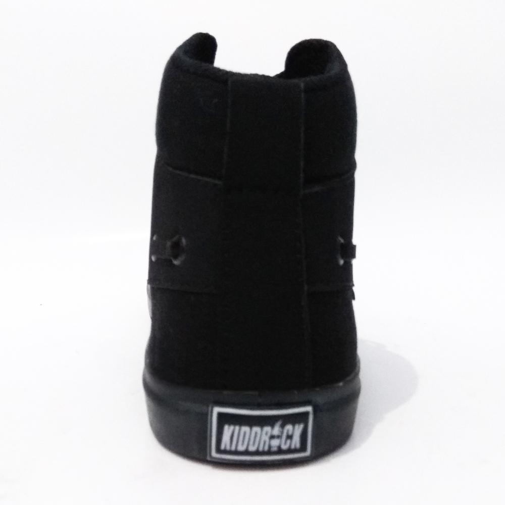 Me Code Sepatu Sneakers Sekolah Casual Pria Wanita Kidrock Polos - Tinggi + FREE Topi Truckerr - 5