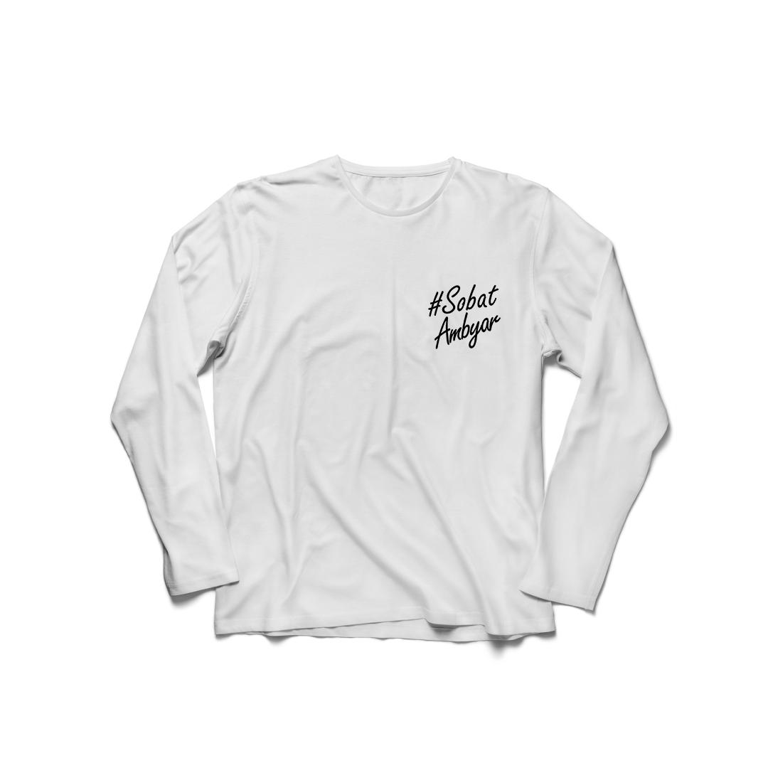 minara – kaos baju t-shirt sobat ambyar lengan panjang cewek cotton combad premium  / kaos wanita / tshirt cewe / kaos oblong / trending shirt