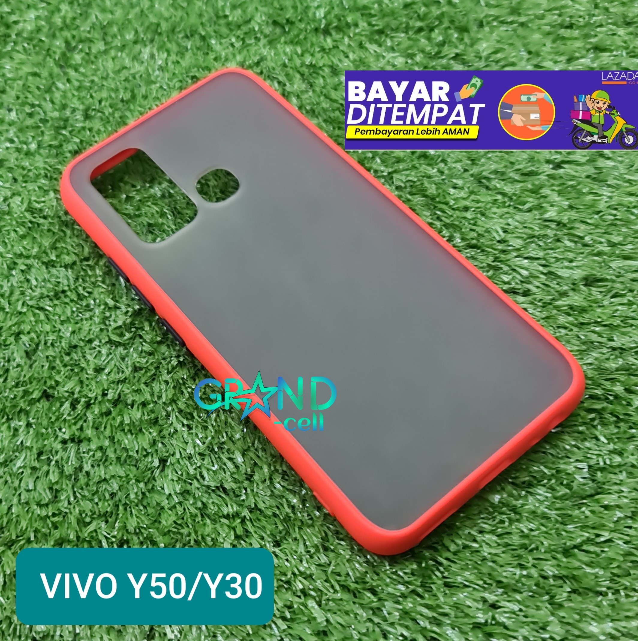 Case Matte VIVO Y50/Y30 2020 Premium cover High Quality Bumper Aero Back Casing bumper softcase