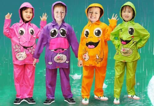 vadisya shop bisa cod – bayar ditempat – jas hujan anak kido / jas hujan anak tk sd setelan stelan baju celana