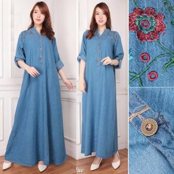 168 Collection Gamis Maxi Zalori Longdress Jumbo Jeans