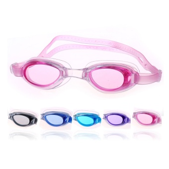 2017 Baru Hot Sale Waterproof Anti Fog UV Anak Menyelam Renang Kacamata Anak Laki-laki dan Perempuan Eyewear Swim Goggles Gafas Natacion -Intl
