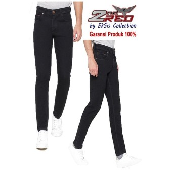 2Nd Red Celana Jeans Slim Fit Hitam Best Produk Eksis Collection133206