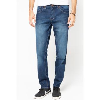 2Nd Red Jeans Fashion Wiskers Biru 121269