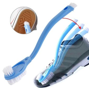 4ever Double Long Handle Shoes Brush Cleaner Brushes Washing Toilet Lavabo Pot Dishes Home Cleaning Tools