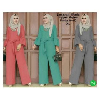 63153 jumpsuit winda/jumpsuit muslim/jumpsuit murah/baju muslim murah