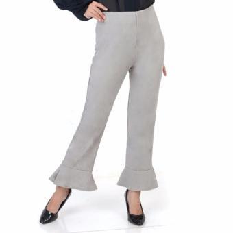 ... Ace Fashion Axel Cullote Pants Celana Kulot Wanita Grey