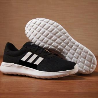 Sepatu Adidas Cloudfoam Running Shoes - Hitam
