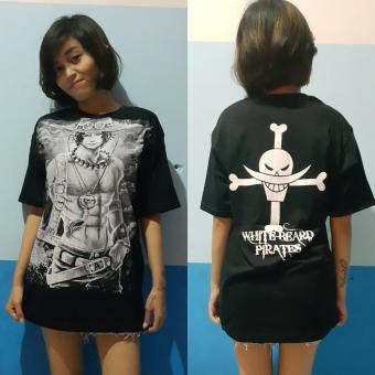 Aduuh Kaos T-Shirt Distro Premium Anime One Piece Portgas D. Ace Best Seller