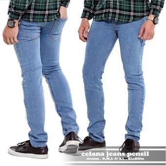 Cek Harga Baru Ahf Jaket Jeans Denim Pria Biru Muda Bioblitz Terkini ... 0b1edd6243