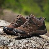 Aiwoqi Laki-laki Rendah Anti-Air Non-slip Sepatu Daki Gunung Tinggi Sepatu Luar Ruangan Pendakian Daki Gunung-Internasional - 5