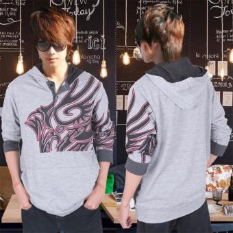 AK - Sweater Hugos Tattoo - grey Akiko fashion