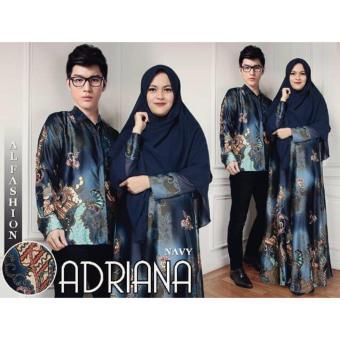 Fitur Sale Baju Couple Pasangan Muslim Pria Wanita Suami Istri