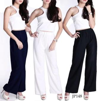 [Allsize & XL] Basic LONG CULLOTES Pants Celana Kulot JP148