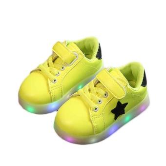 Amart Fashion LED Sepatu Light Up Bercahaya Sepatu Sneakers Luminous dengan  Sol Cahaya-Intl 0bd47622dc